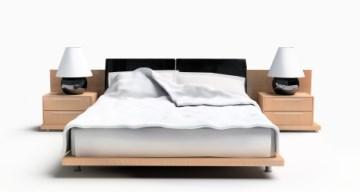 Vackert sängbord