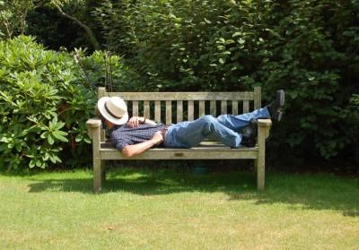 En solstol att vila i